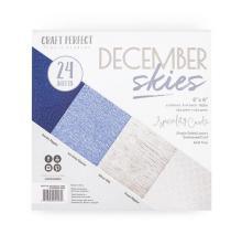 Tonic Studios Craft Perfect 6x6 Card Packs - December Skies 9427E