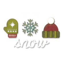 Tim Holtz Sizzix Sidekick Side-Order Set - Winter