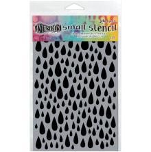 Dyan Reaveleys Dylusions Stencils 5X8 - Teardrops Small