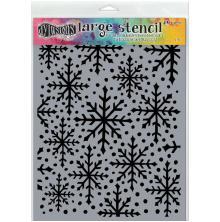 Dyan Reaveleys Dylusions Stencils 9X12 - Snowflake Large