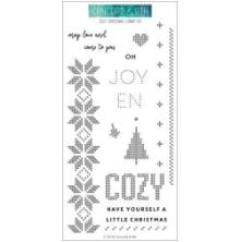 Concord & 9th Clear Stamps 4X8 - Cozy Christmas