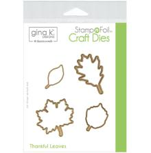 Gina K Designs Die Set - Thankful Leaves