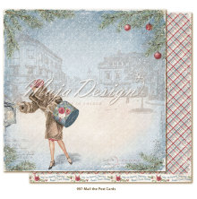 Maja Design Christmas Season 12X12 - Mail the postcards