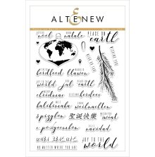 Altenew Clear Stamps 6X8 - Peace on Earth