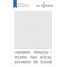 Altenew Clear Stamps 6X8 - Dainty Swiss Dots