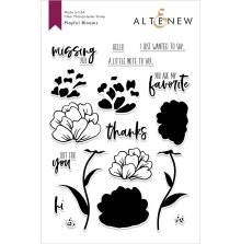 Altenew Clear Stamps 6X8 - Playful Blooms