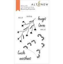 Altenew Clear Stamps 4X6 - Blooming Branches
