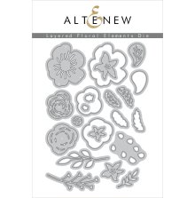 Altenew Die Set - Layered Floral Elements