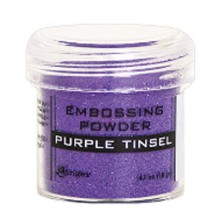 Ranger Embossing Powder 18gr - Purple Tinsel