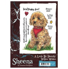 Sheena Douglass A Little Bit Sketchy A6 Stamp Set - Willow Wishes