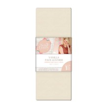 Sara Signature Sew Lovely Faux leather - Vanilla