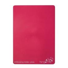 Tonic Studios Tangerine Plates - Raspberry Embossing Folder Plate 146E