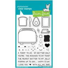 Lawn Fawn Clear Stamps 4X6 - Lets Toast