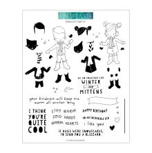 Concord & 9th Clear Stamps 6X8 - Bundled Up