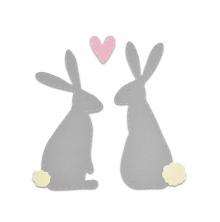 Sizzix  Bigz Die - Spring Hares 19-01