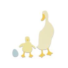Sizzix Bigz Die - Duck and Duckling 09-01