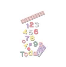 Sizzix Thinlits Die Set 16PK - Pop Art Numbers 19-01