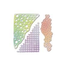Sizzix Thinlits Die Set 5PK - Geometric Mask Set 19-01