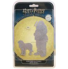 Harry Potter Die And Face Stamp Set - Hagrid & Fang