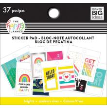 Me & My Big Ideas Happy Planner Tiny Sticker Pad - Happy Brights
