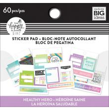 Me & My Big Ideas Happy Planner Tiny Sticker Pad - Healthy Hero Monthly