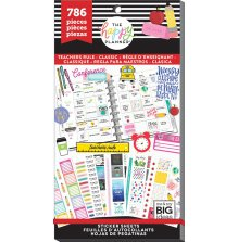 Me & My Big Ideas Happy Planner Sticker Value Pack - CLASSIC Teachers Rule