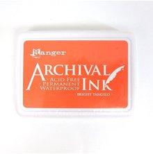 Ranger Ink Archival Inkpad - Bright Tangelo