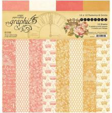 Graphic 45 Double-Sided Paper Pad 12X12 16/Pkg - Princess