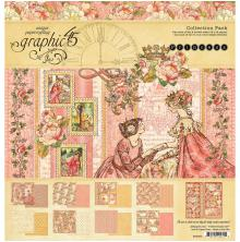 Graphic 45 Collection Pack 12X12 - Princess