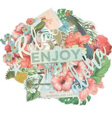 Kaisercraft Collectables Cardstock Die-Cuts - Paradise Found
