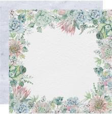 Kaisercraft Greenhouse Double-Sided Cardstock 12X12 - Rosette