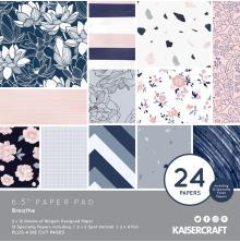 Kaisercraft Paper Pad 6.5X6.5 40/Pkg - Breathe