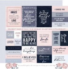 Kaisercraft Breathe Double-Sided Cardstock 12X12 - Clear Skies