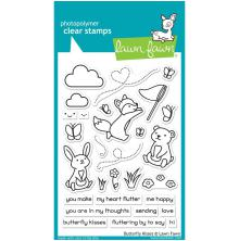 Lawn Fawn Clear Stamps 4X6 - Butterfly Kisses