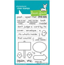 Lawn Fawn Clear Stamps 4X6 - Open Me