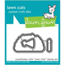 Lawn Fawn Custom Craft Die - Year Nine