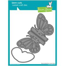 Lawn Fawn Custom Craft Die - Pop-Up Butterfly