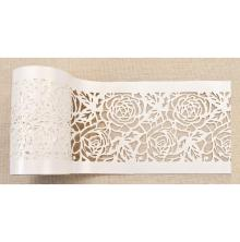 Prima Redesign Stick & Style Stencil Roll 4X15yd - Tea Rose Garden