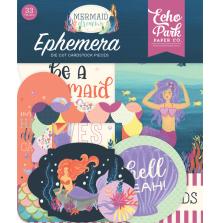 Echo Park Mermaid Dreams Cardstock Die-Cuts 33/Pkg - Ephemera