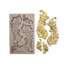 Prima Redesign Mould 5X8 - Baroque Swirls