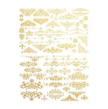 Prima Re-Design Collection Gold Transfer - Gilded Ornate Flourishes