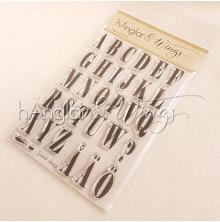 hÄnglar & Wings Clear Stamps - Alfabet