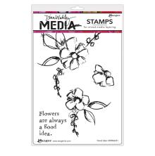 Dina Wakley Media Cling Stamps 6X9 - Good Idea