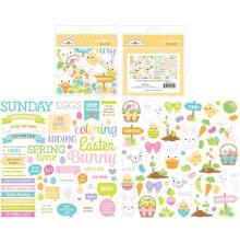 Doodlebug Odds & Ends Die-Cuts - Hoppy Easter