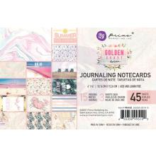 Prima Journaling Card 4X6 45/Pkg - Golden Coast