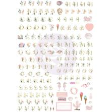 Prima Golden Coast Alphabet Stickers 5/Sheets - Alpha