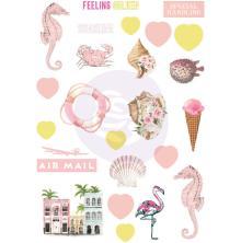 Prima Puffy Stickers 24/Pkg - Golden Coast