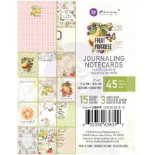 Prima Journaling Card 3X4 45/Pkg - Fruit Paradise
