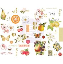 Prima Chipboard Stickers 39/Pkg - Fruit Paradise