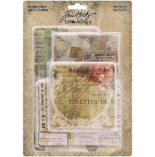 Tim Holtz Idea-Ology Journal Cards 100/Pkg